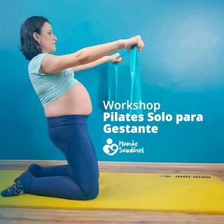 Workshop Pilates Solo para Gestante