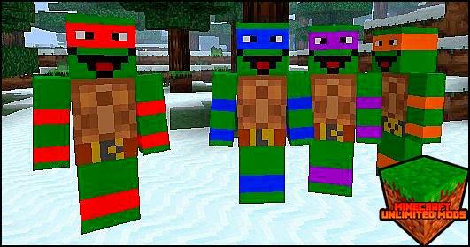 Toon Town mod las tortugas ninja