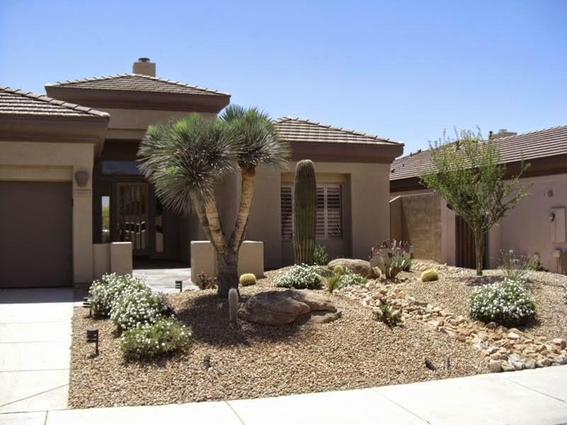 Frontyard Desert Landscaping Ideas
