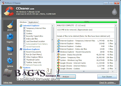 CCleaner 4.03 Business Edition Full Crack