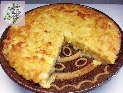 Tortilla Española, o Tortilla de Patatas Vegana.