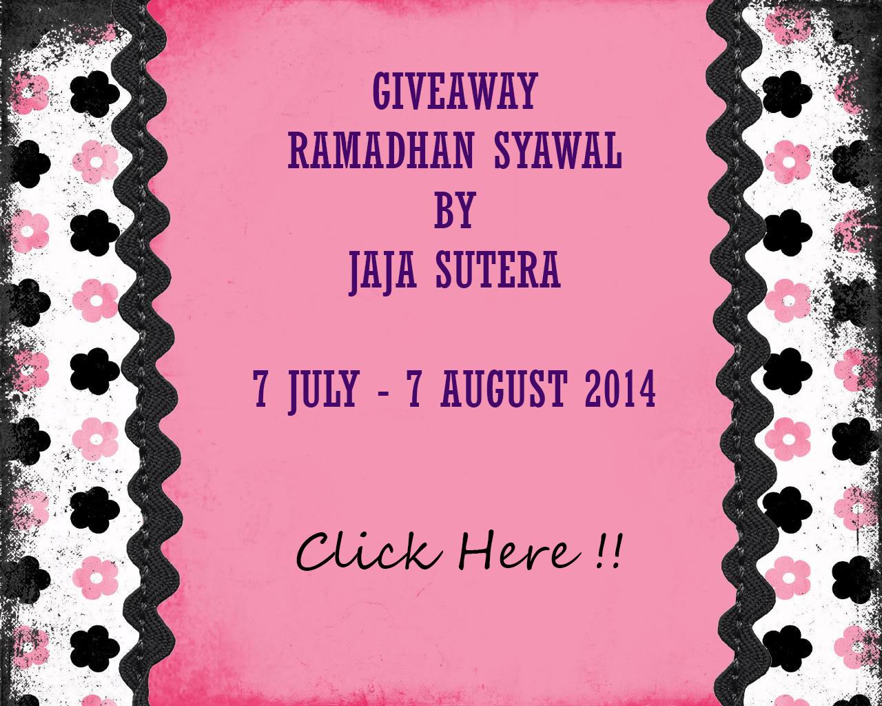http://jajasutera.blogspot.com/2014/07/giveaway-ramadhan-syawal-by-jaja-sutera.html