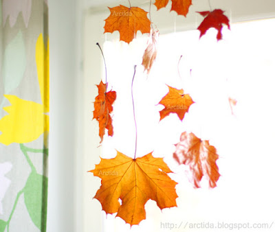 http://arctida.blogspot.se/2012/11/diy-autumn-home-decor-falling-leaves.html