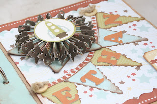 Baby Boy Scrapbook Mini Album