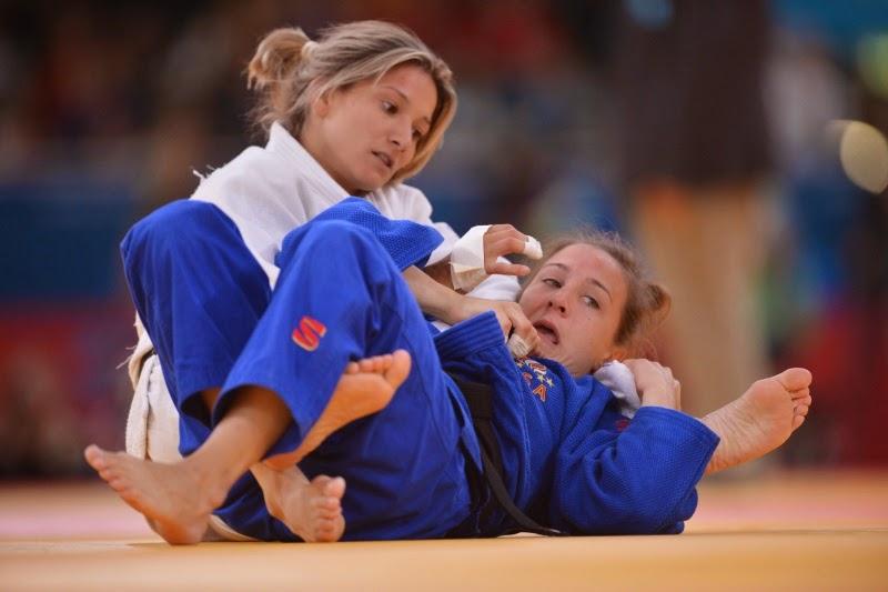 Telma Monteiro vence medalha de prata no Campeonato Mundial de Judo