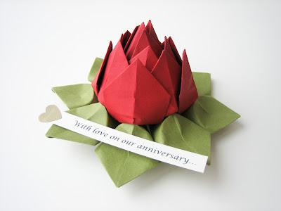 Lotus Flower Origami Picture