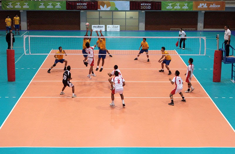 Voleibol for El gimnasio es un deporte