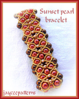 CROCHET BEADED NECKLACE PATTERN | Original Patterns