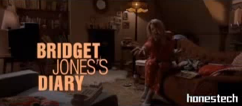 an analysis of the diary by bridget jones Aesthetic and narrative criteria are not the only the objects of analysis, but this  article will also  her interpretation of bridget jones's diary drawing on her book .