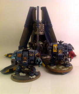 40k SW Bjorn and Brother Stumpy