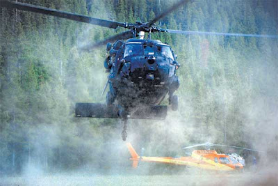 Copter air crash