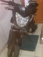 Pengiriman Motor Bajaj Pulsar B 3087 SAY Palembang