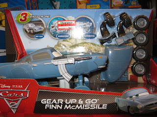 Disney Cars 2 Gear Up & Go Finn McMissile