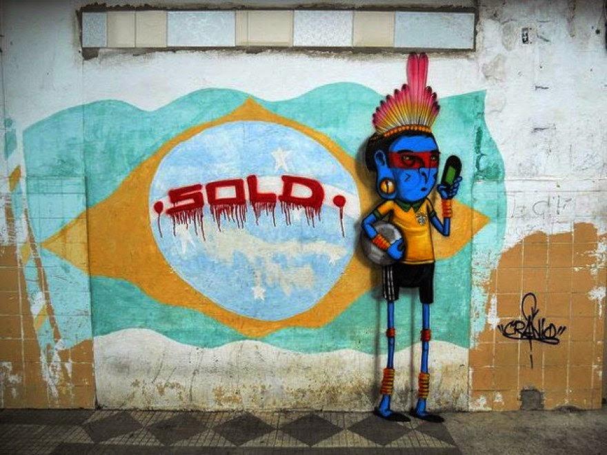 Street art FIFA