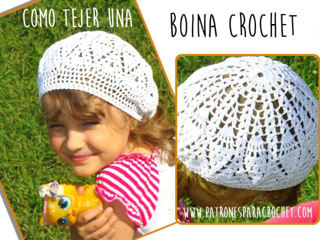 Cómo tejer una boina crochet / tutorial | Patrones para Crochet