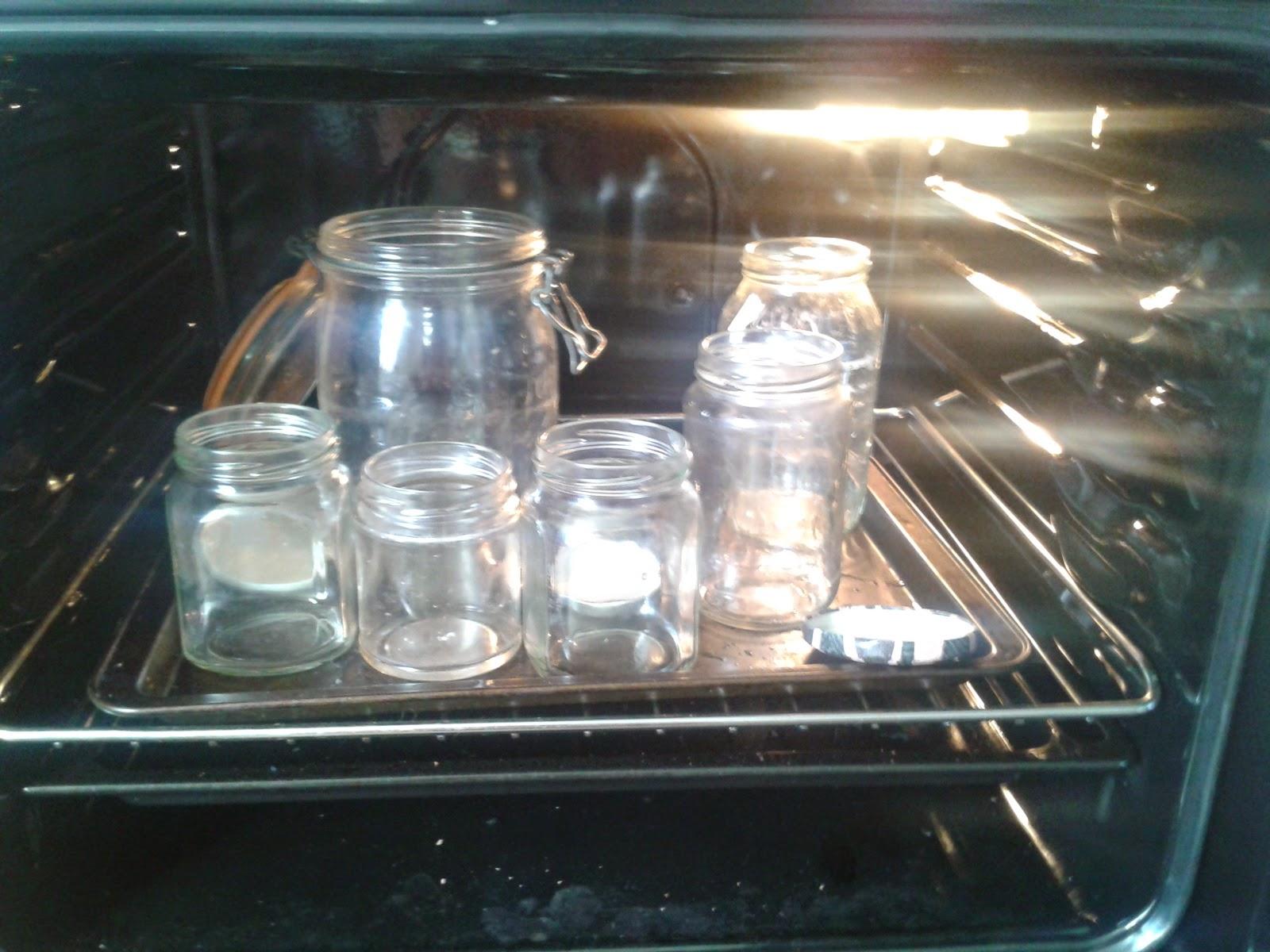 how to sterilise jam jars