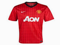 Jersey Manchester United 2013/2014 Buatan Indonesia