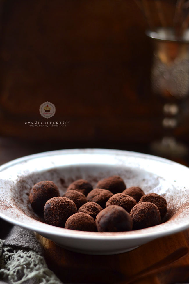 Leftove Brownies Truffles