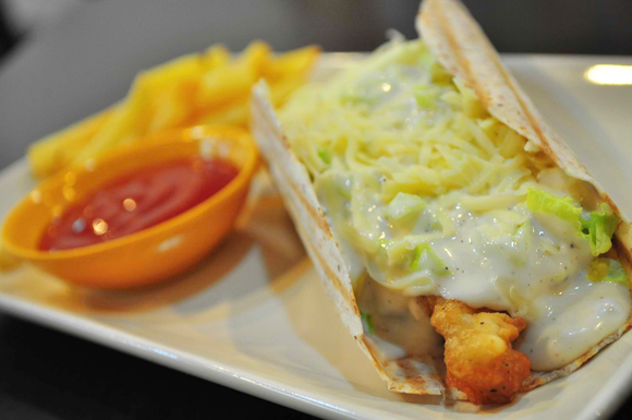Foodie from the Metro - Chubby Chicken Katipunan Tacos with Fries