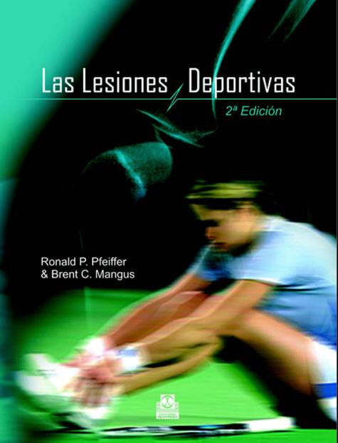Libros en PDF de Kinesiología y Fisioterapia: Lesiones Deportivas ...