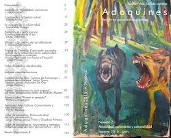 Revista adoquines de psicoanálisis y cultura