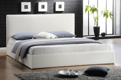 foto dormitorio blanco y negro
