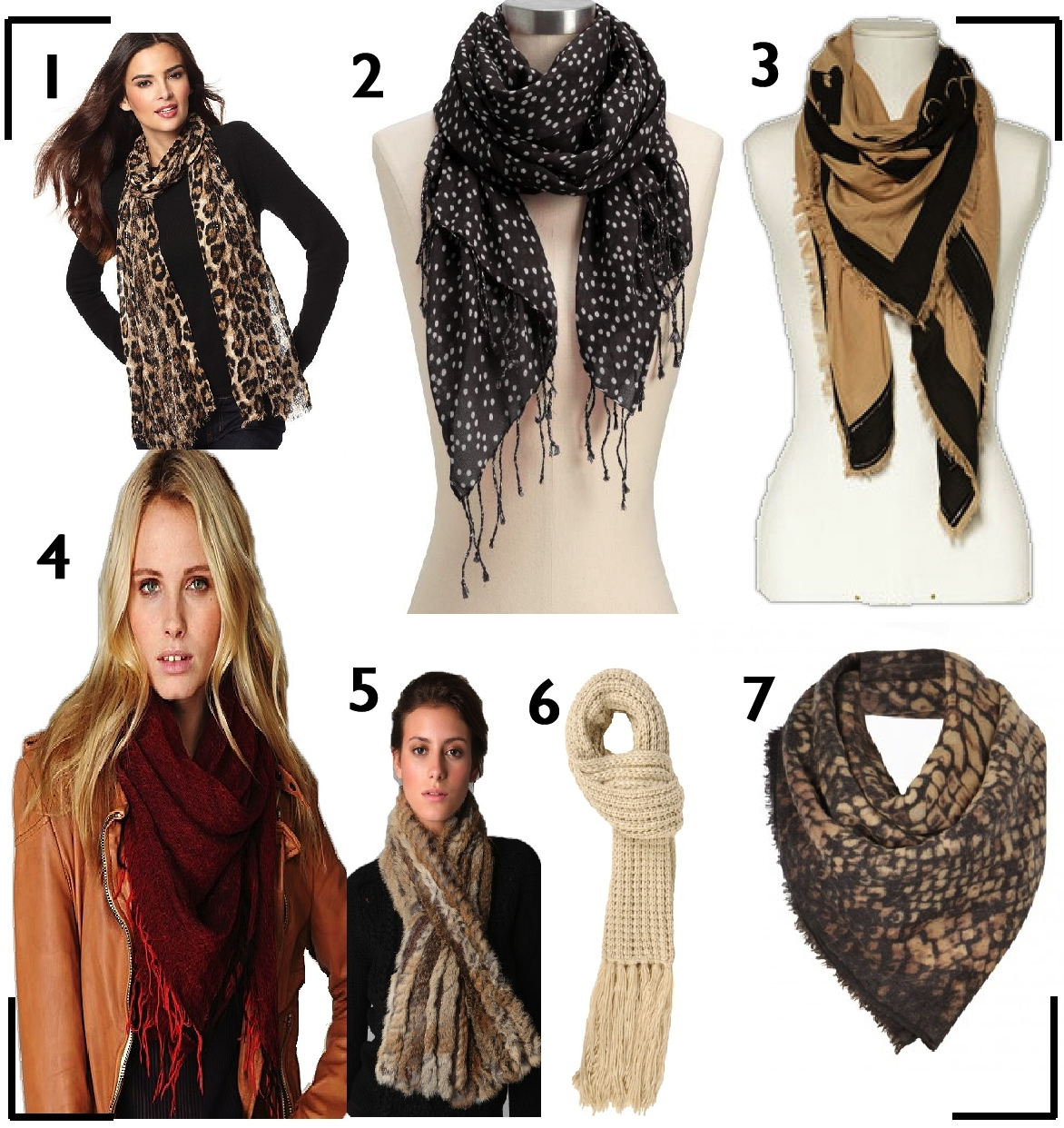 zoe with neck scarves top picks and how to wear them