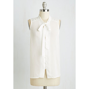 Zephyr than Ever Top in white from Modcloth