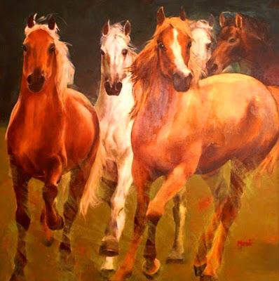 oleo-caballos