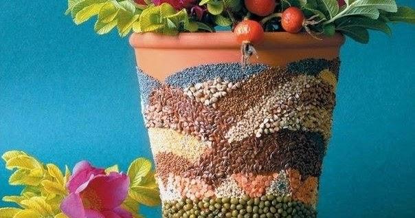 Diy fancy flower pot diy crafts tutorials for Fancy flower pots