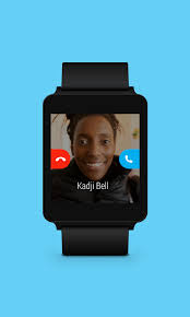 Smart Watch with Skype
