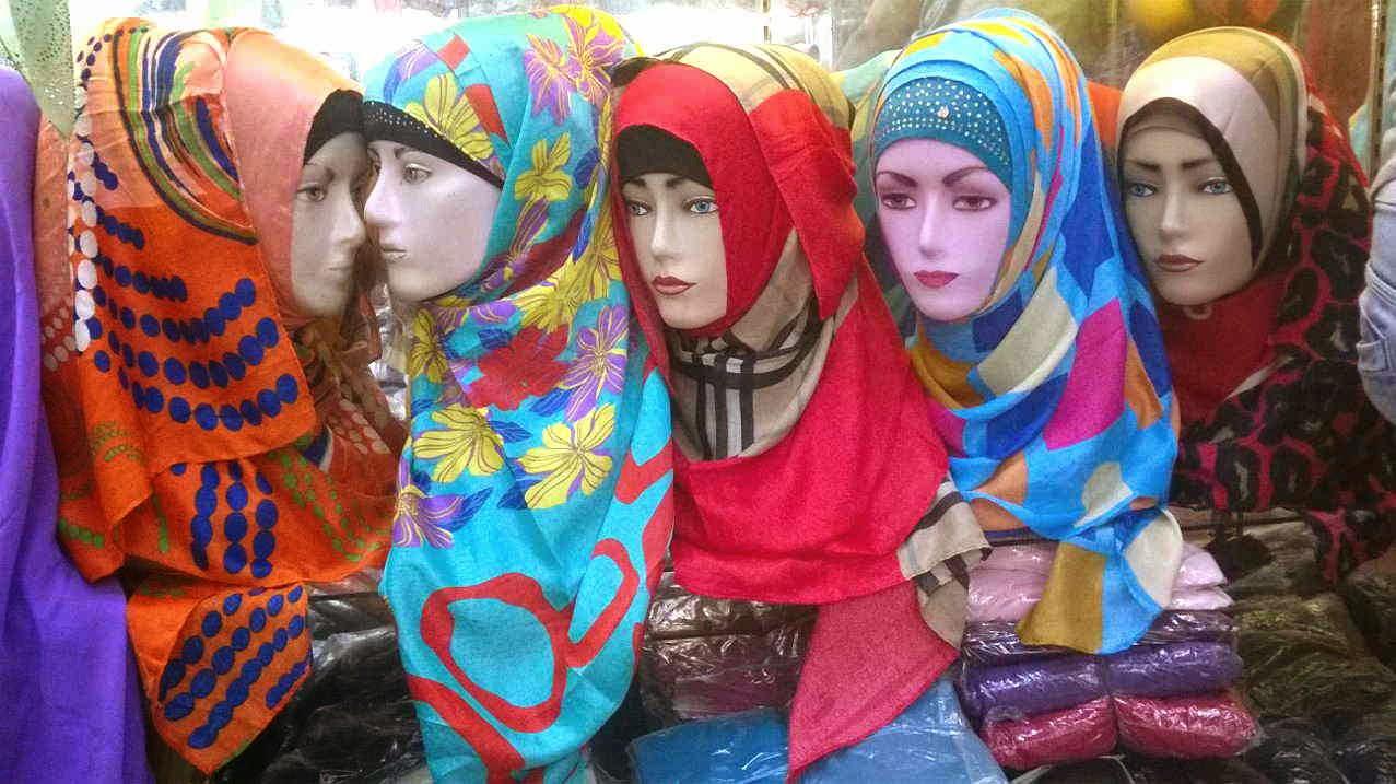 jual Pashmina Azur Turkey