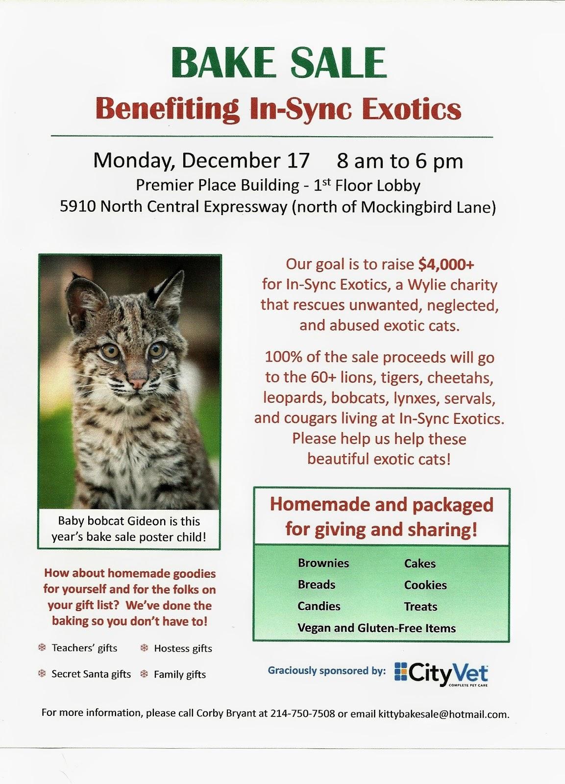 In-Sync Exotics\' Cat Tales: 12/9/12 - 12/16/12
