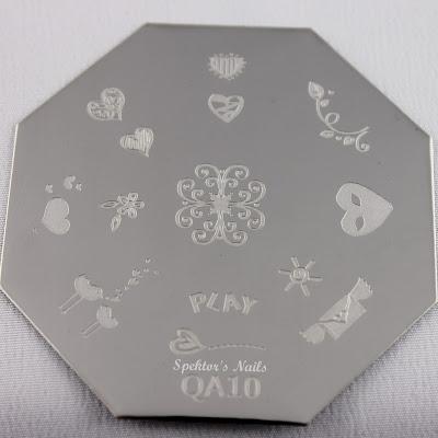 Born Pretty Store Stamping Plate QA10