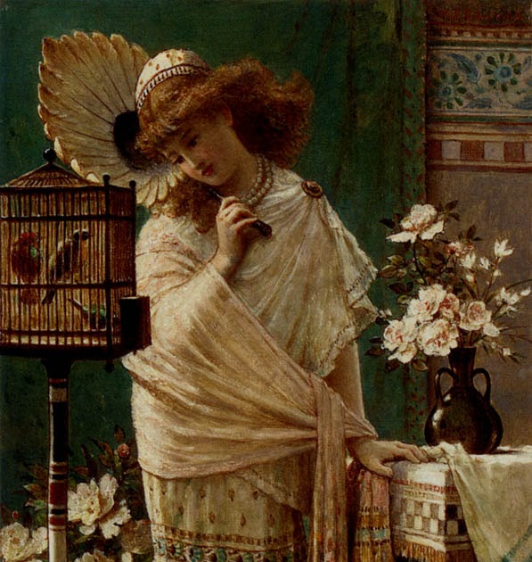 Resting ~ William Stephen Coleman ~ (English: 1829-1904