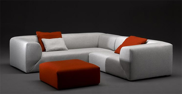 modern houses with the modern contemporary luxury furniture from