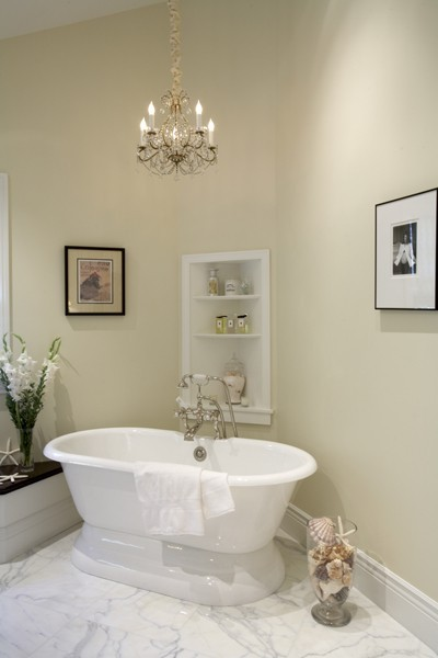 Bathroom Chandeliers Ideas bathroom chandeliers ideas with traditional bathroom with a romantic