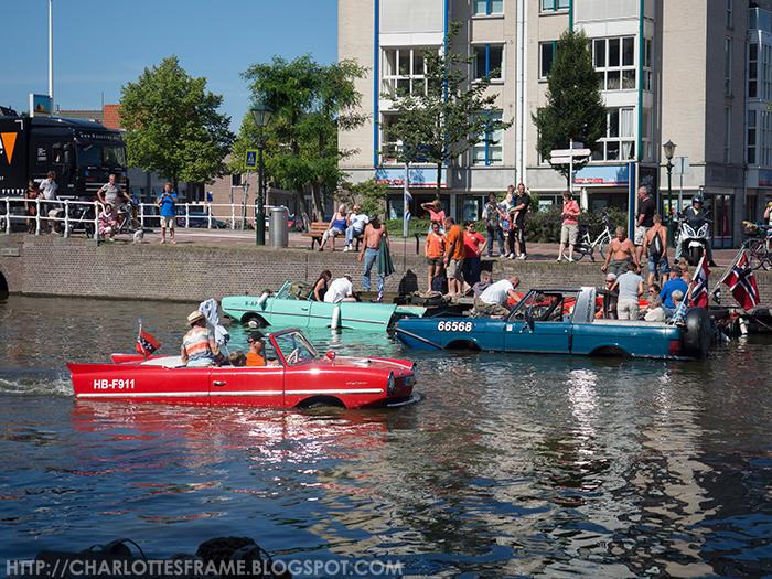Amfibievoertuigenshow Alkmaar
