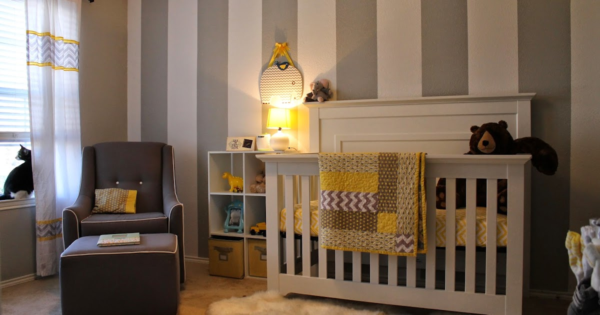 all things alisa gray white yellow nursery. Black Bedroom Furniture Sets. Home Design Ideas