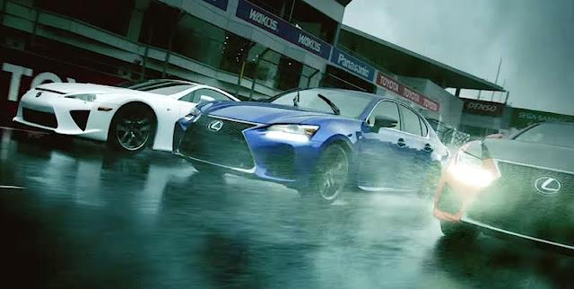 LFAも登場!レクサスが「GS F」の最新プロモーション映像を公開。