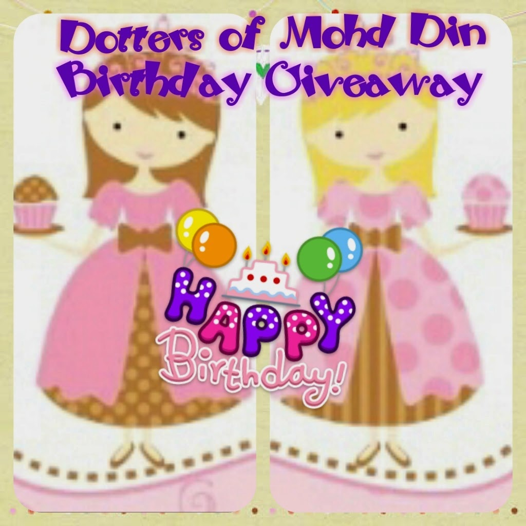 Dotters of Mohd Din BirthdayGiveaway
