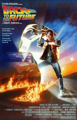 Movie Poster Back to the Future