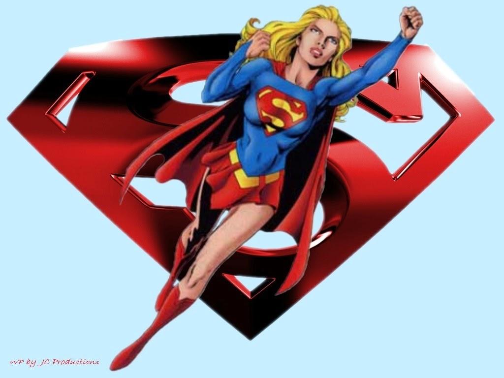Kumpulan Gambar Super Girl   Gambar Lucu Terbaru Cartoon