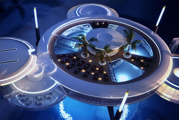 Amazing Places To Travel Hydropolis Underwater Hotel Dubai