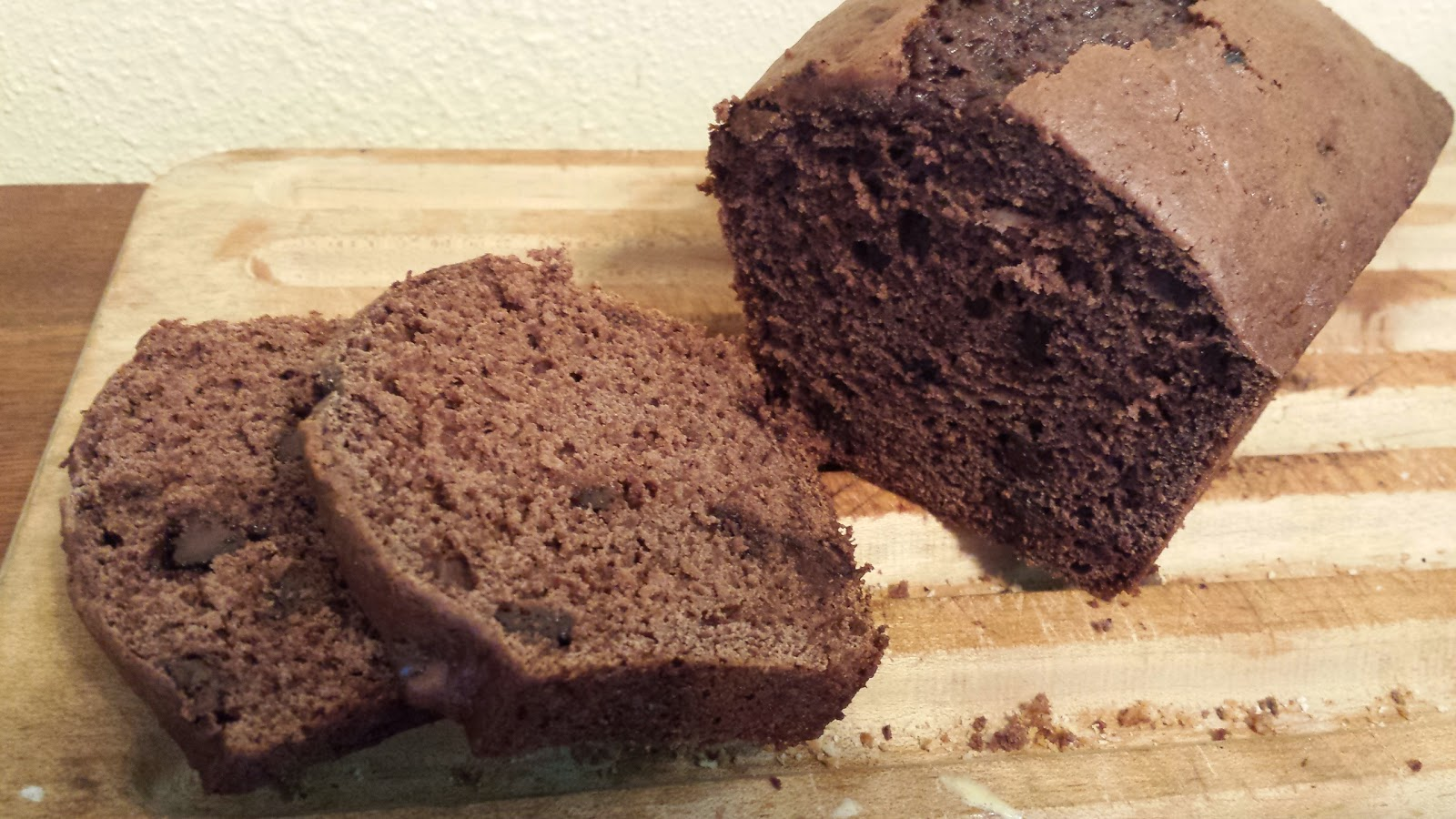 My Patchwork Quilt: SKINNY CHOCOLATE BANANA BREAD