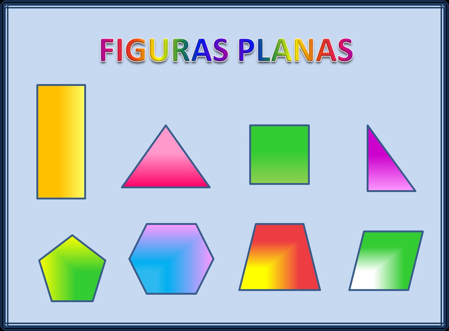 Volamosporprimaria figuras planas for Las formas geometricas
