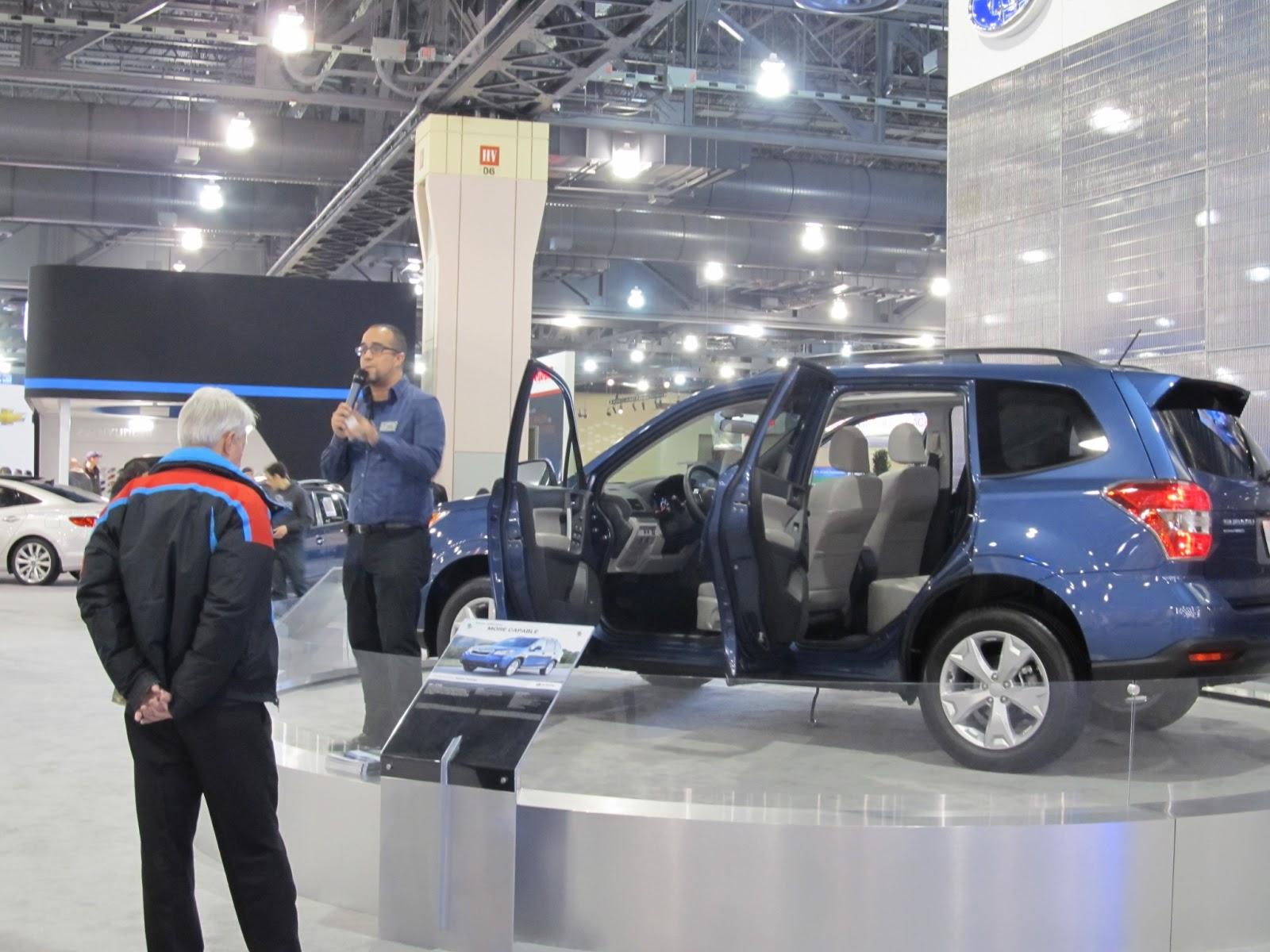 AT ChevroletSubaru At Your Service January - Philadelphia international car show