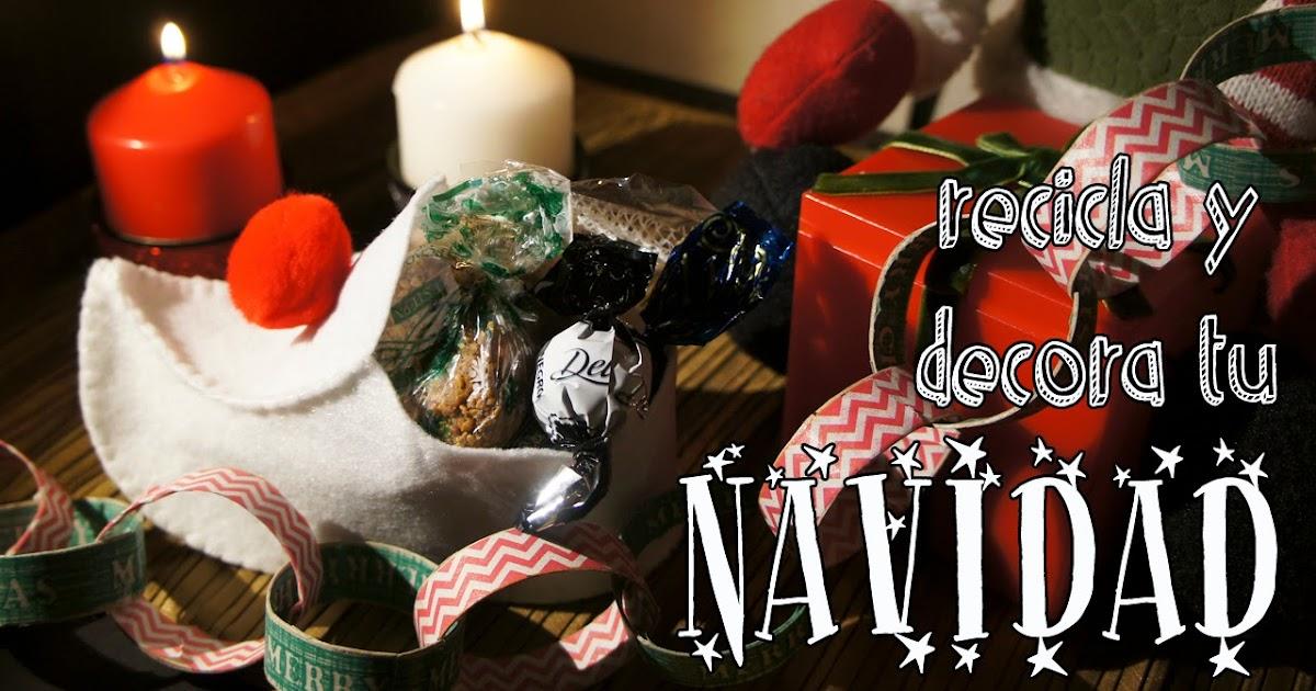 Fieltropiezos diy recicla y decora tu navidad - Recicla y decora ...