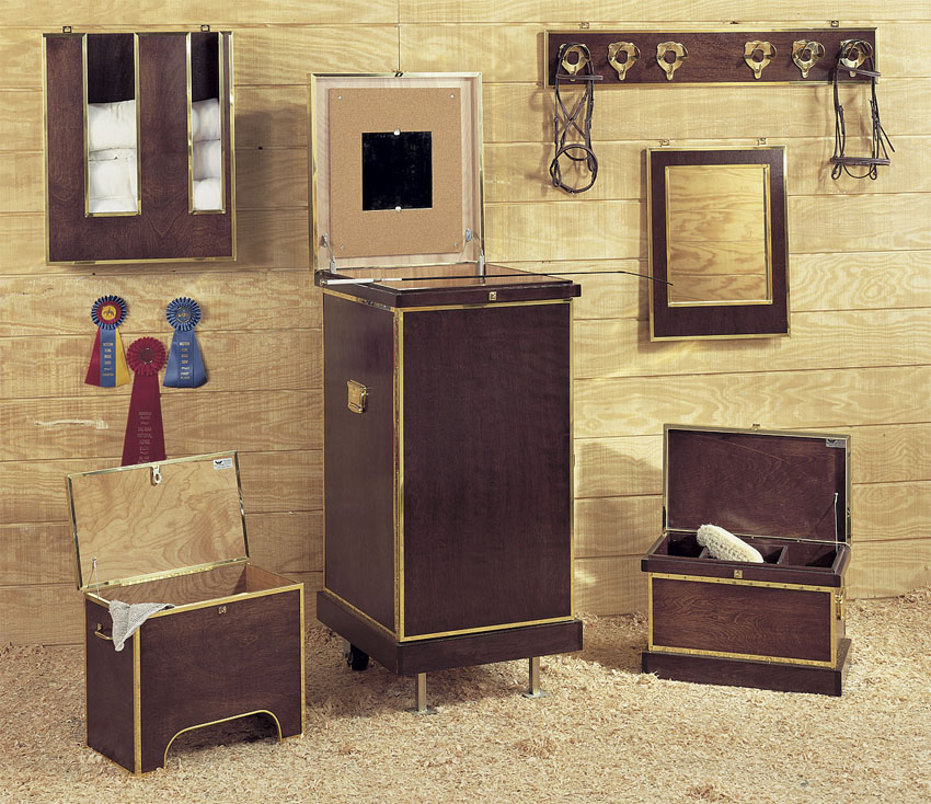 Horse Country Chic Tack Trunks