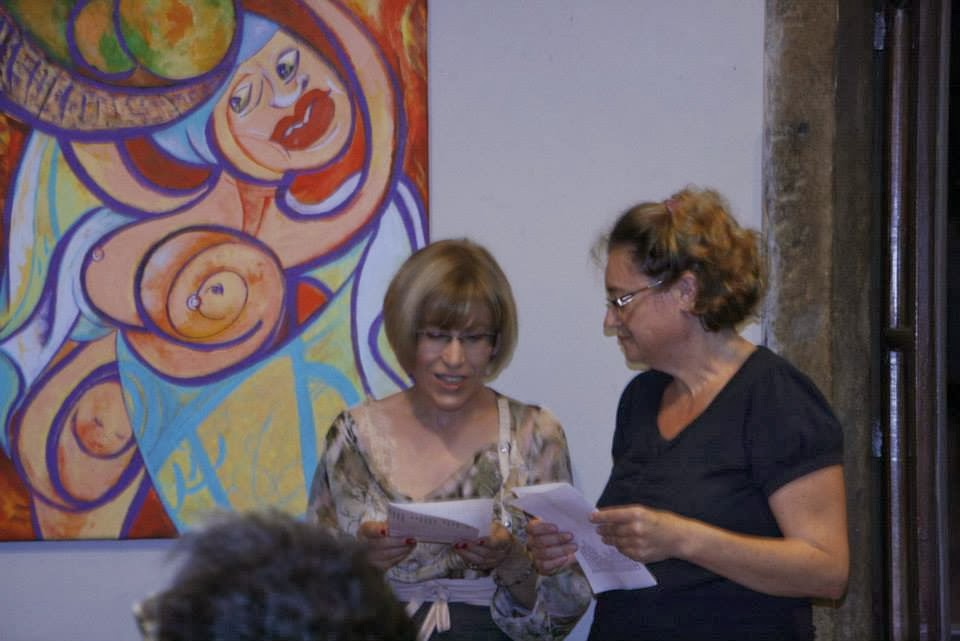 com Teresa Teixeira (Olimpo Bar)